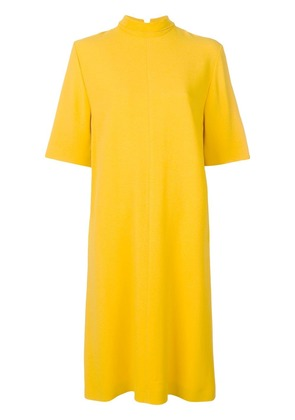 Joseph funnel neck dress - Yellow & Orange