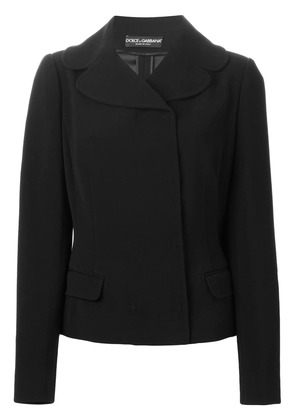 Dolce & Gabbana wide collar jacket - Black