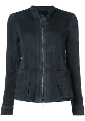 Emporio Armani fitted jacket - Blue
