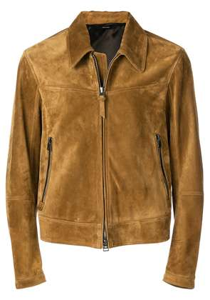 Tom Ford zip front jacket - Brown
