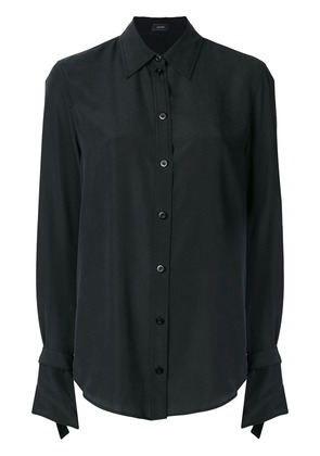 Joseph curved hem shirt - Black
