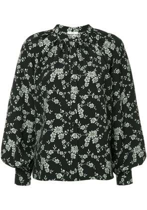 Co floral blouse - Black