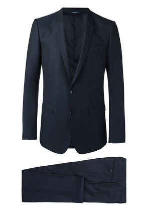 Dolce & Gabbana Gold fit formal suit - Blue