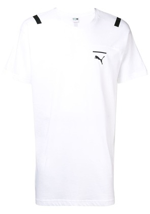 Puma oversized logo T-shirt - White