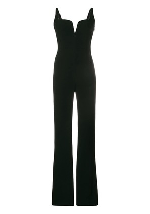 Galvan Signature corset jumpsuit - black