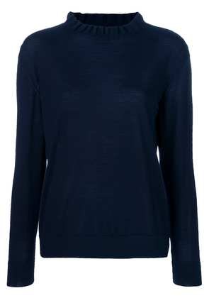 A.P.C. frilled style sweater - Blue