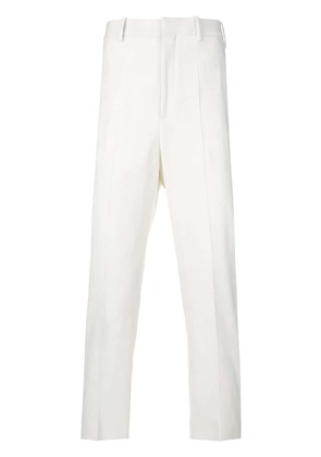 Neil Barrett cropped tailored trousers - White