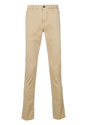 Incotex slim fit trousers - Nude & Neutrals