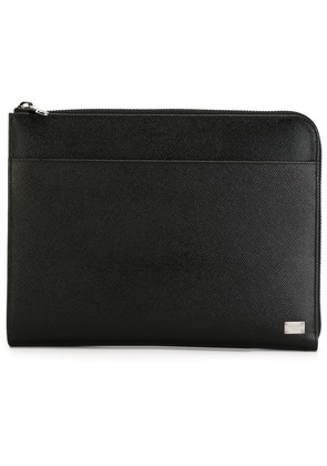 Dolce & Gabbana textured leather pouch - Unavailable