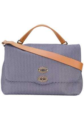 Zanellato large Postina shoulder bag - Blue