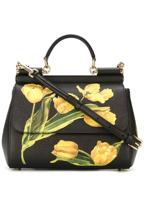 Dolce & Gabbana medium 'Sicily' tote - Black