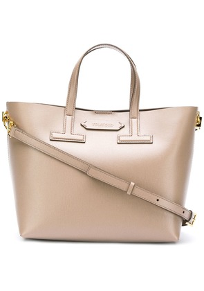 Tom Ford inverted T tote bag - Nude & Neutrals