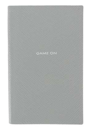Smythson Game On notebooks - Grey