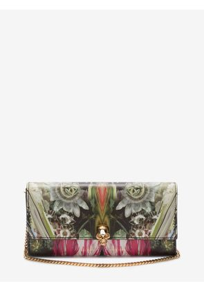 ALEXANDER MCQUEEN Wallets with chain - Item 45407617