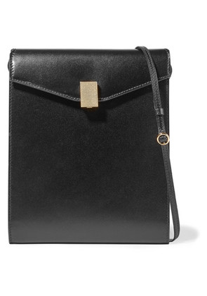 Victoria Beckham - Postino Leather Shoulder Bag - Black