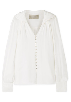 Jason Wu - Silk-georgette Blouse - White