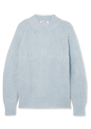 Jil Sander - Mohair And Silk-blend Sweater - Light blue