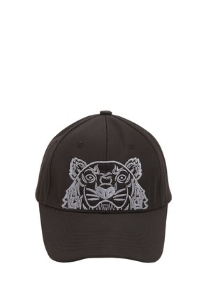 TIGER EMBROIDERED CANVAS HAT