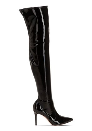 85MM STRETCH VINYL BOOTS