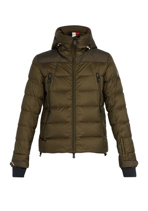 Camurac quilted nylon jacket