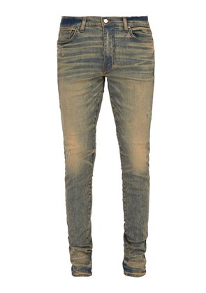 Stack slim-fit jeans