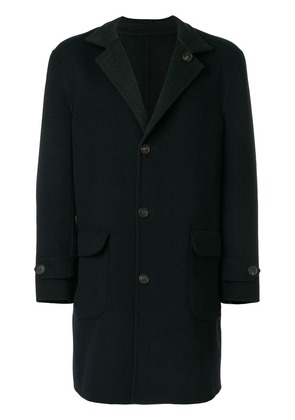 Brunello Cucinelli single breasted coat - Blue