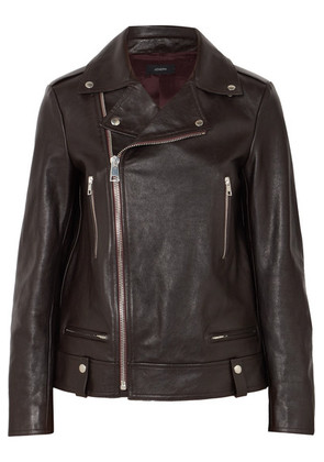 Joseph - Ryder Leather Biker Jacket - Merlot
