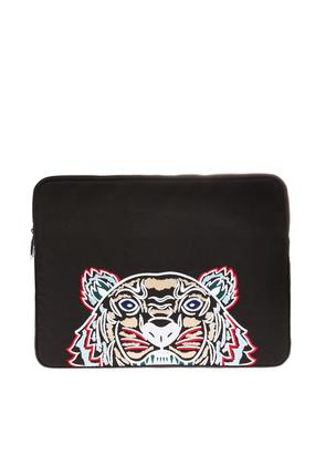 Kenzo Laptop case with tiger head motif