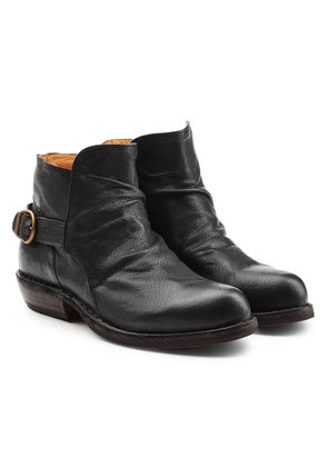 Fiorentini + Baker Carol Leather Ankle Boots with Buckles