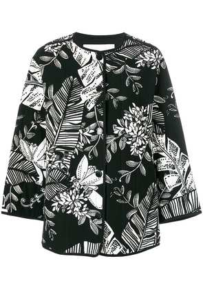 See By Chloé padded jungle-print jacket - Black