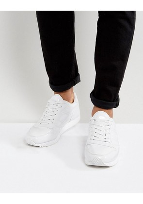 ASOS Trainers In White Patent - White