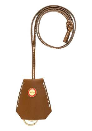 032C long pouch keyring - Brown