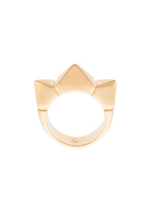 Chloé spiked ring - Metallic