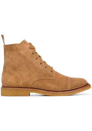 Polo Ralph Lauren lace-up boots - Brown