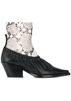 Joseph layered-look ankle boots - Black