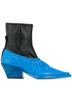 Joseph colour-block ankle boots - Black
