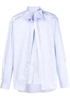 Y / Project overlayered shirt - Blue