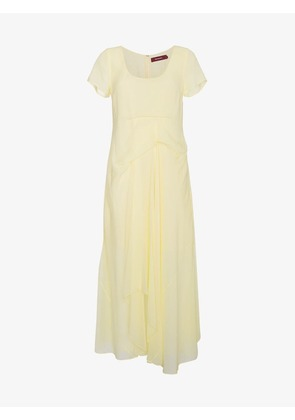 Sies Marjan Silk Scoop Neck Dress
