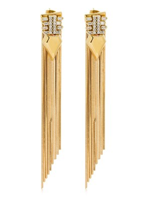 LONG FRINGED EARRINGS
