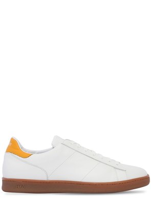 LEATHER HONEY SOLE SNEAKERS