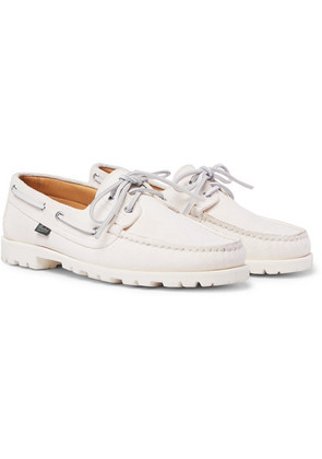 + Paraboot Malo Suede Boat Shoes