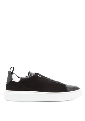 Uno low-top suede trainers