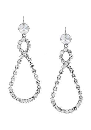 Miu Miu infinity drop earring - Metallic