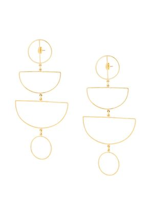 Mercedes Salazar Juego earrings - Metallic