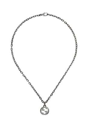 Gucci Interlocking G pendant necklace - Metallic