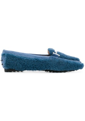Tod's TOD'S XXW0LU0AE90JQN BLUE Leather/Fur/Exotic Skins->Leather