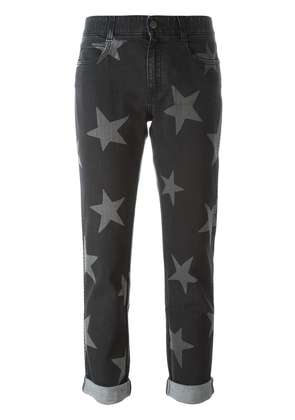 Stella McCartney star print jeans - Black