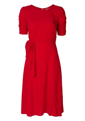 P.A.R.O.S.H. ruched slim-fit dress - Red