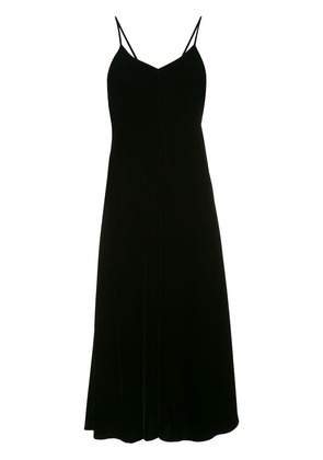 Song For The Mute loose flared dress - Black