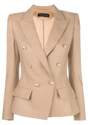 Alexandre Vauthier double breasted blazer - Nude & Neutrals